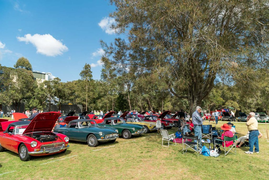 2017 MG Car Club Sydney Display Day & Concours d'Elegance