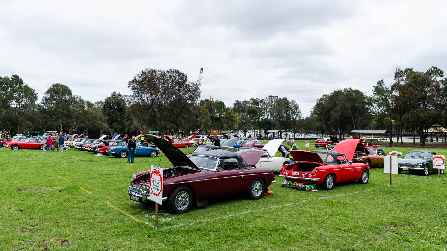 MG Car Club 2018 Concours & Display Day