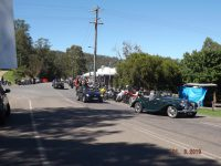 2019 MG RV8 Run to Wollombi Ingo Weinberger
